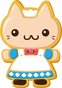Icing cookie · cat maid