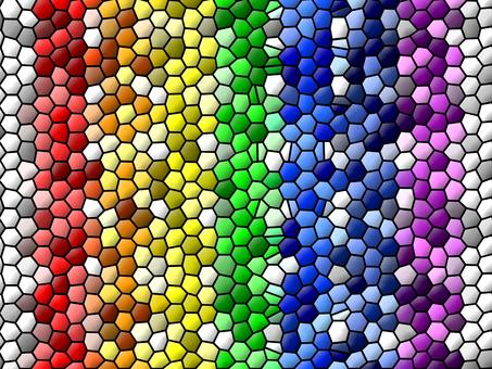 Deformation Rainbow Color