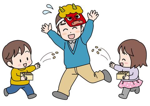 嬰兒/ Setsubun