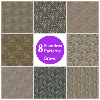 Gravel background set