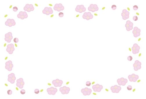 Peach blossom framework