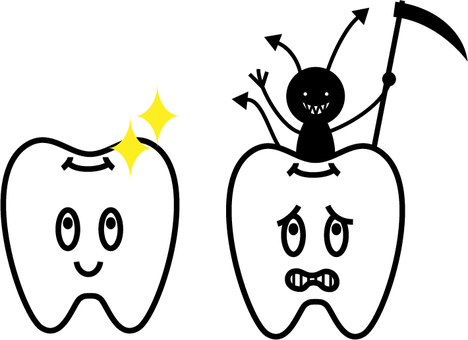 Illustration of teeth