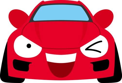 Car sports car smile