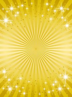 Hello Gold Emissive Background _ Golden (Vertical)