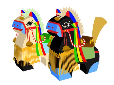 Folk art of Chaguchagu Mako