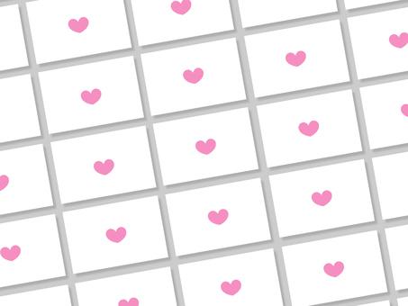 Aligned love letters