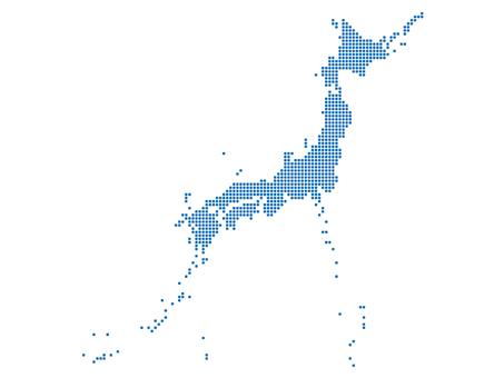 일본지도 4