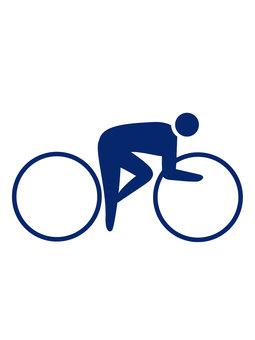 自転車競技のマーク
