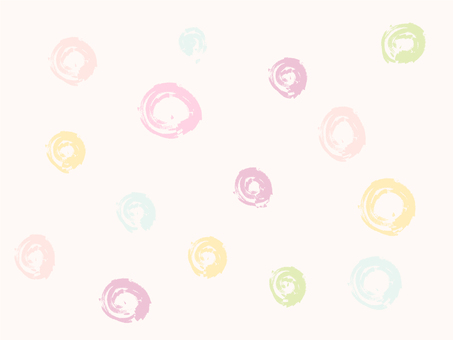 Water color dot _ Pink 2