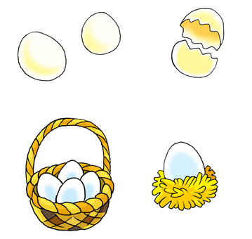 Egg (Easter can also go!)
