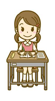 Girls (children): A_ lesson 01FS