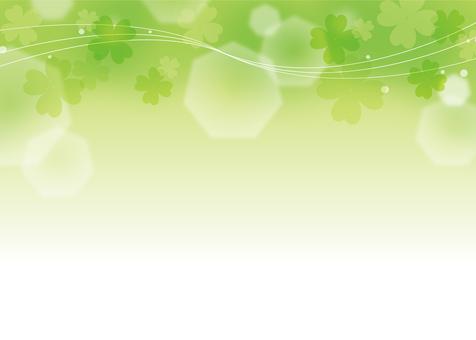 Four leaf clover texture