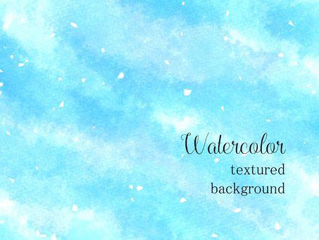 水彩背景06 /藍色