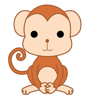 Animal Illustrations-Monkeys