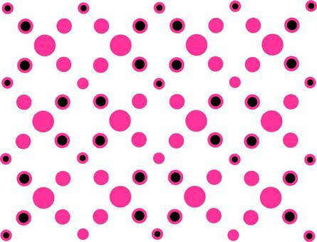 Polka dot pattern Neon city image