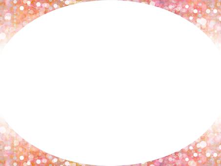 Round frame (pink)