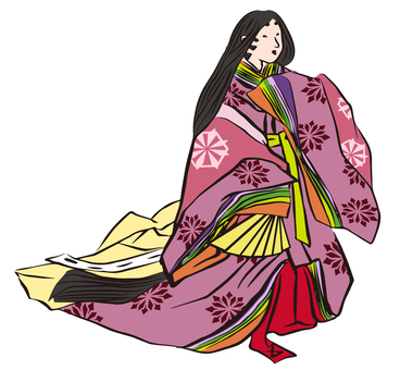 Princess of the Heian period