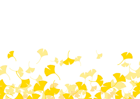 Ginkgo background material 2
