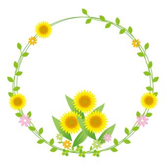 Sunflower lease ornament