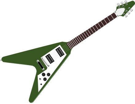 Electric guitar ④