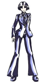 Single suit, women's