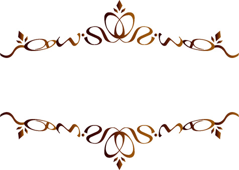 Title frame Brown