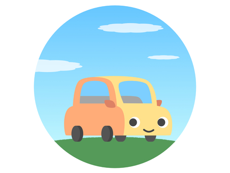 Passenger car character driving drive