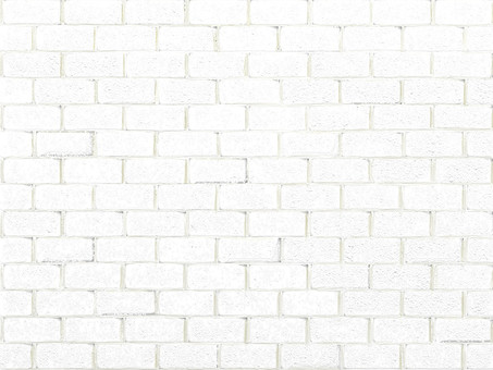 Retro white brick background