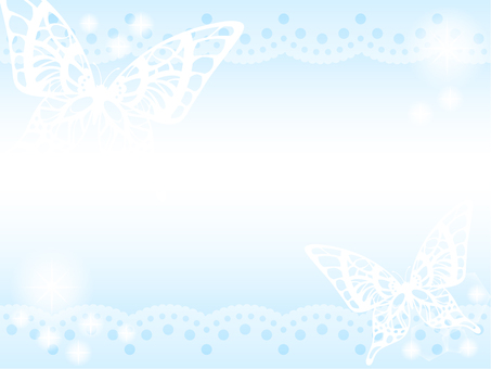 Butterfly background (blue)