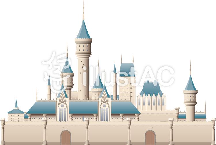 西洋の城イラスト No 1038128無料イラストならイラストac