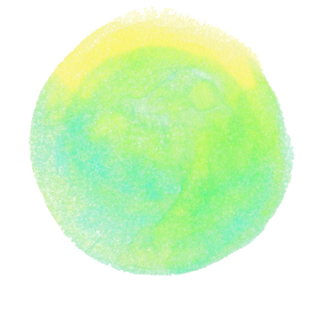 Pale circle 3 Soft green circle icon Dot watercolor