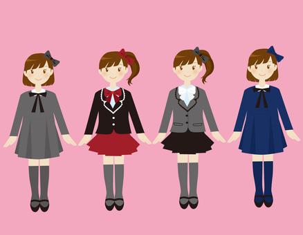 Formal girls