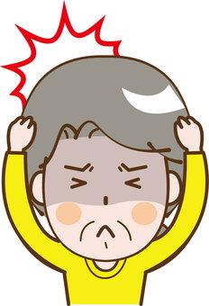 Elderly 脳 infarction