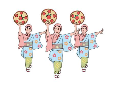 야마가타 하나 가사 축제