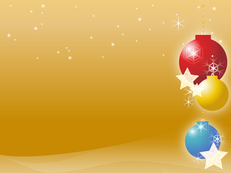 Christmas ornament background 2