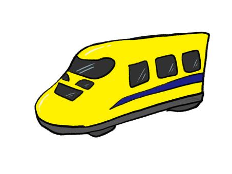 黃色車身新幹線