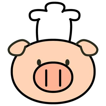 Pork cook (face only