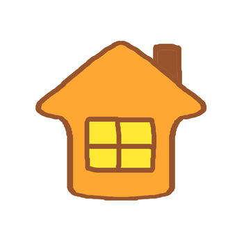 A warm house