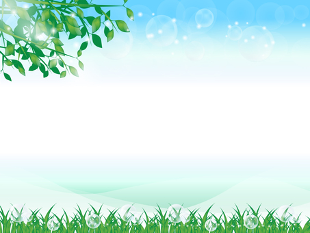 Fresh green background 8