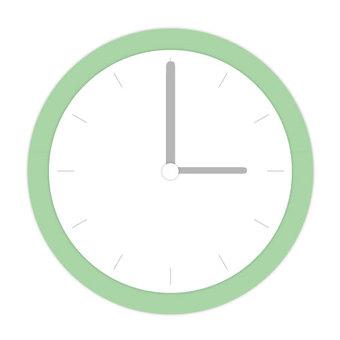 녹색 시계