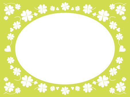 Four Leaf Clover Oval 1-4