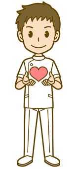 男(護士):A_ Heart 01 FS