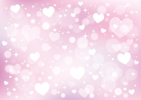 Heart pattern background 01