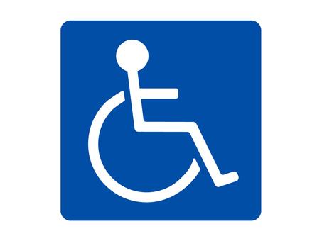 휠체어 마크 02