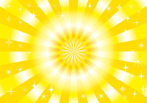 집중 선 노란색 오렌지 태양 해돋이 설날 배경