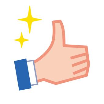 Slender hand sign · like · passed