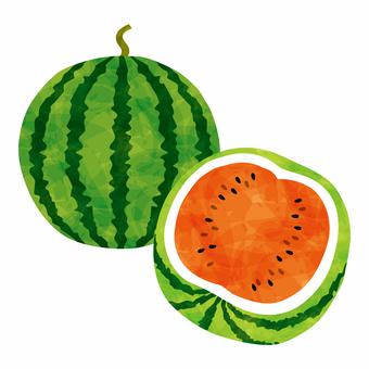 Summer image watermark