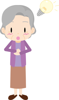 Elderly lady (inspiration)