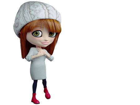 Big Eyes Doll