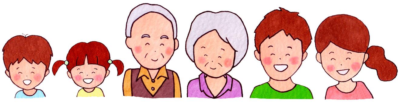 家族(三世代)